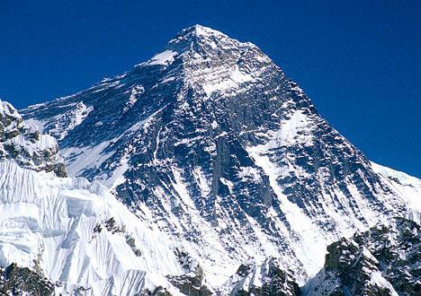 Metais pesados contaminam o Monte Everest